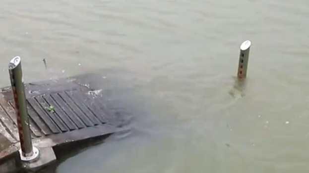 湖南 洞庭湖多處超警戒水位 多舉措應對汛情