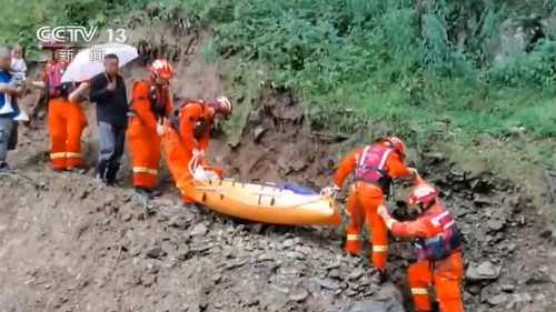 安徽寧國 連降暴雨引發山洪 18名村民緊急轉移