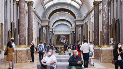 重開!嚴格防疫 盧浮宮閉館已損失4千萬歐元