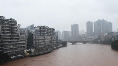 中央氣象臺繼續發布暴雨橙色預警
