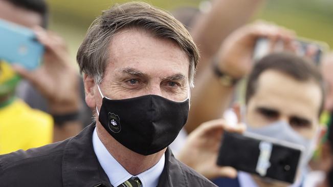巴西:總統確診 總統府百余員工亦感染