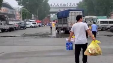 北京新發地部分商戶結束隔離 回到市場