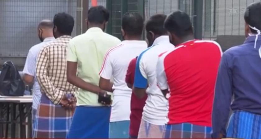 新加坡已對20余萬名外籍勞工進行新冠檢測