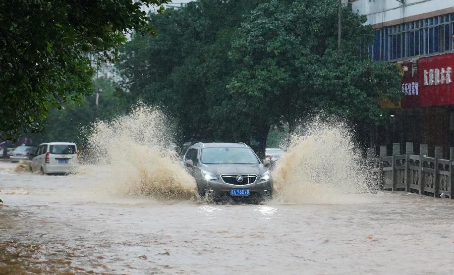 中央氣象臺:強降雨持續影響長江淮河流域