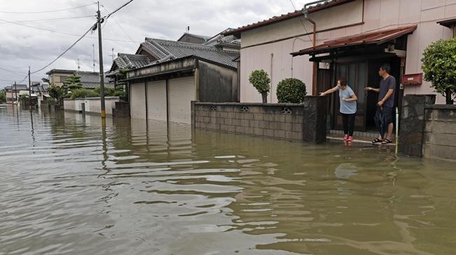 日本:7月份暴雨致死人數升至79人