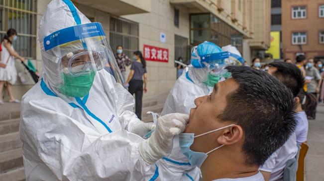 新疆烏魯木齊:重點地區開展第二次免費核酸檢測工作
