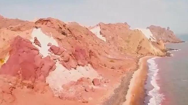 """紅色海岸 探秘伊朗""""自然地質博物館"""""""