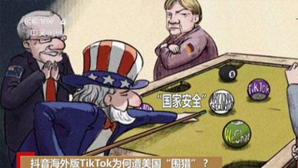 """抖音海外版TikTok為何遭美國""""圍獵""""?"""