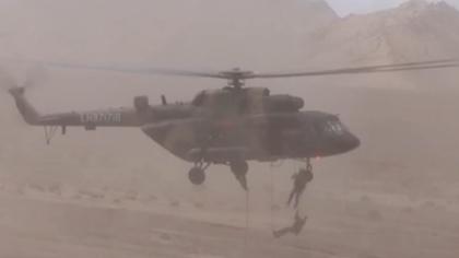 中國陸軍:空地協同 錘煉部隊高原作戰技能