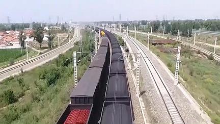 中國鐵路貨物日均裝車量連續三月刷新紀錄