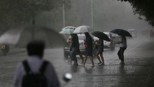 中央氣象臺今晨發布暴雨黃色預警