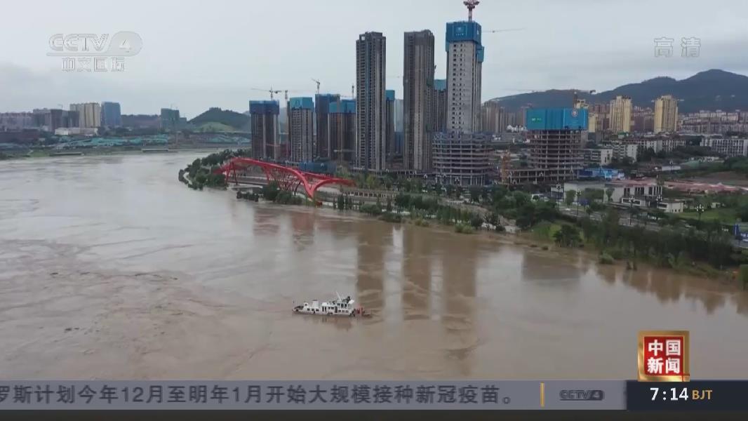 長江四川宜賓段現今年入訊以來最大洪峰