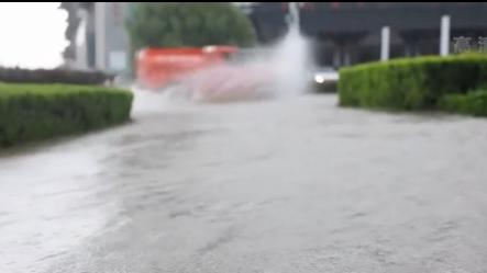 山東沂南遭遇強降雨 最大降雨量423.1毫米