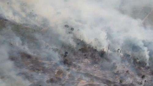 巴西:亞馬孫雨林發生森林火災 濃煙滾滾