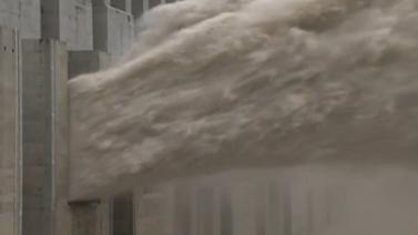 水利部:三峽水庫今早將出現建庫以來最大洪峰