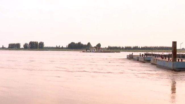 山東:黃河山東段迎來大流量 54座浮橋已拆除