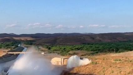 巴西大壩輸水管道破裂 約兩千人被迫轉移