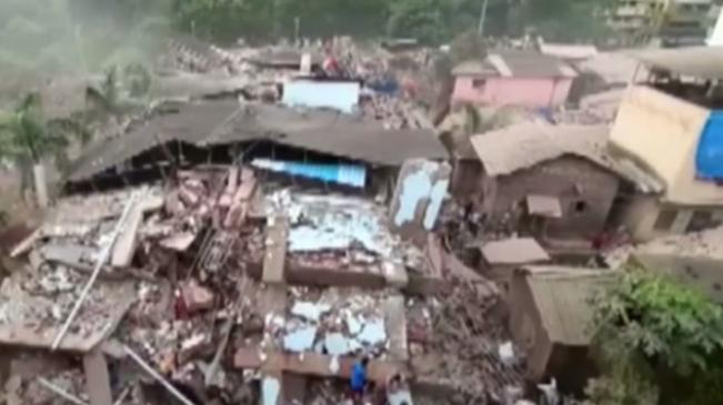 印度:一建築倒塌致數十人被困 至少1人死亡