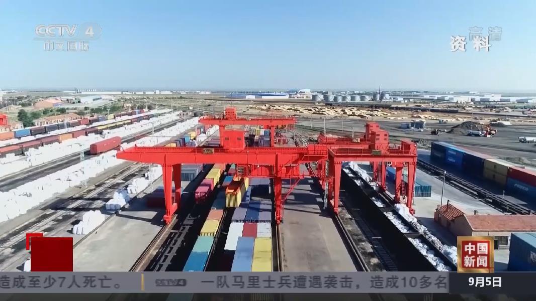 8月份國家鐵路貨物發送量同比增長7.3%
