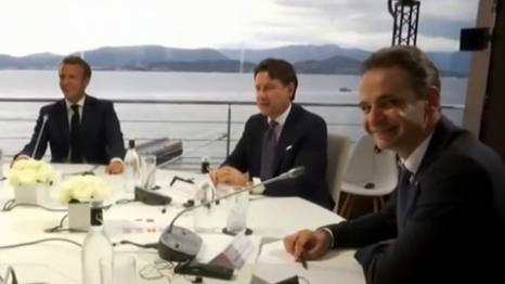 地中海七國領導人峰會 聚焦難民問題及東地中海局勢