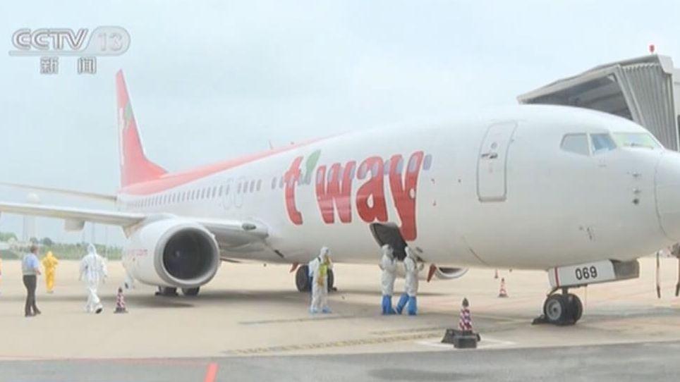 湖北武漢:武漢機場今日復航首條國際客運航線
