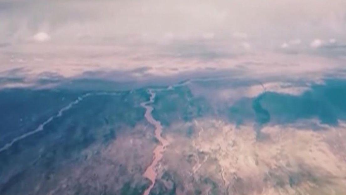 通過轟炸機飛行員視角 領略祖國大好河山