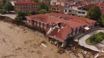 希臘遭風暴襲擊致兩人死亡