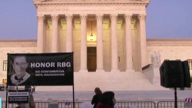 金斯伯格去世輿論衝擊波仍持續 大法官提名人選即將公布