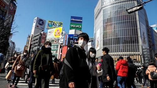 日本:單日新增新冠肺炎確診病例302例