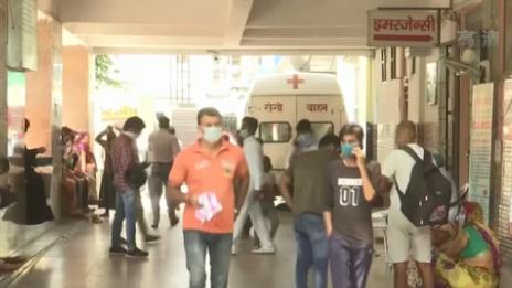 新增超8.6萬例 印度新冠肺炎確診病例數破631萬