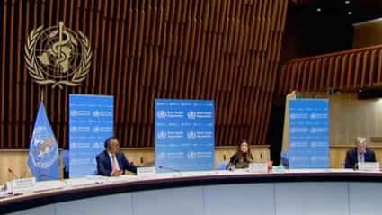 日內瓦:譚德塞敦促各國加強應對疫情的措施