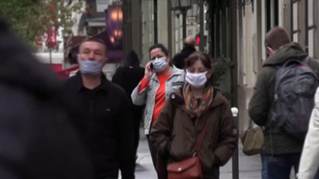 法國巴黎及近郊3省進入疫情最高警戒狀態