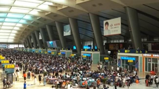 國慶假日運輸鐵路發送旅客12687萬人次
