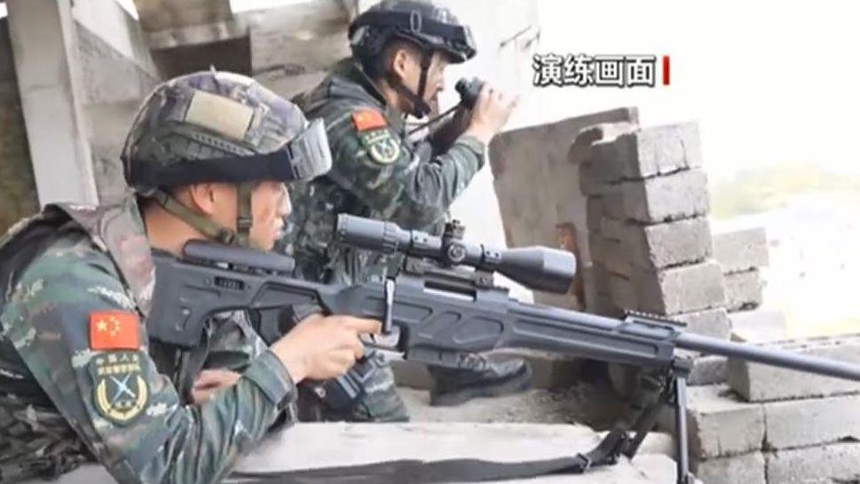 江西:反劫持演練 全面提升反恐作戰能力