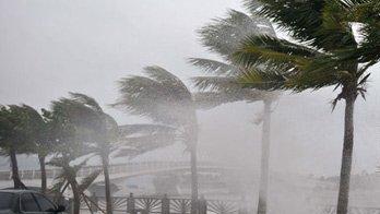 """""""沙德爾""""逼近海南 大風暴雨來襲"""