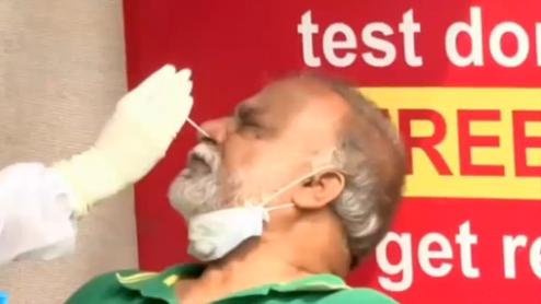 印度累計新冠肺炎確診病例超770萬例