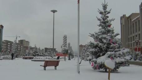 甘肅:多地迎降雪 局地可能出現暴雪