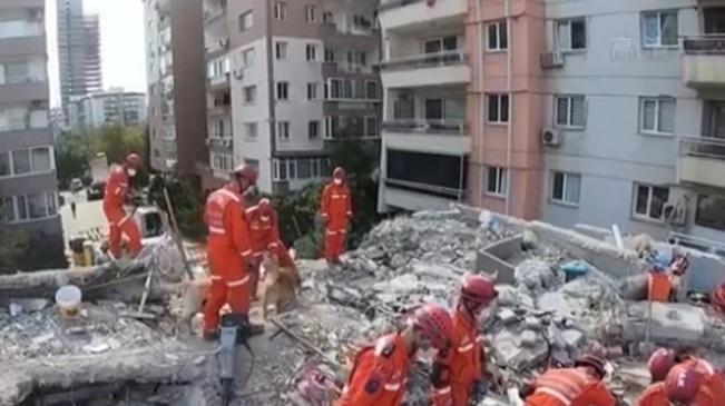 愛琴海海域地震致土耳其73人遇難