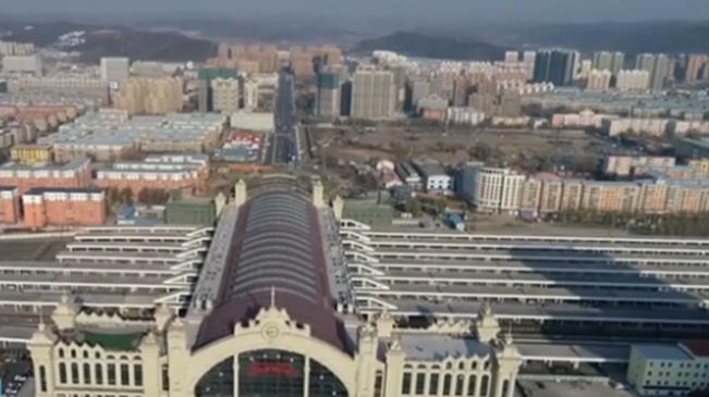 黑龍江:我國最北高寒高鐵綜合樞紐主體結構完工