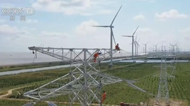江蘇:海上風電加快建設 清潔能源佔比上升