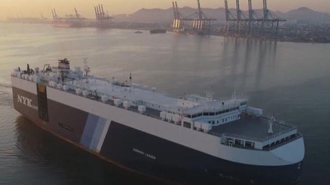 遼寧開通首條商品車外貿班輪航線