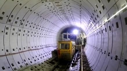 印尼雅萬高鐵1號隧道成功貫通