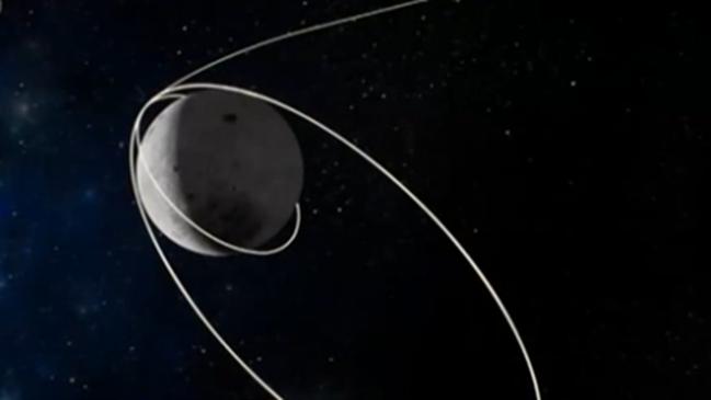 嫦娥五號成功實施近月制動:探測器順利進入環月軌道飛行