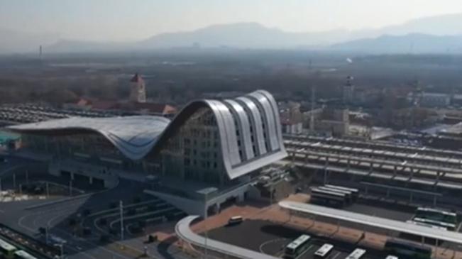京張高鐵延慶線開通運營