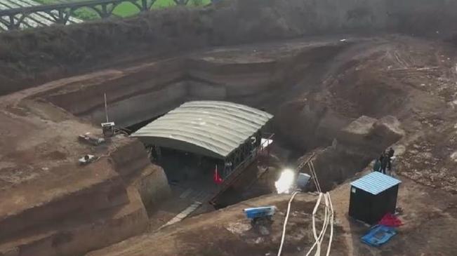 河南洛陽:發現2600多年前戎人王級大墓