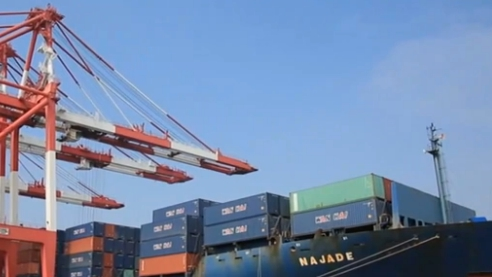 外貿進出口連續正增長 運輸業繁忙