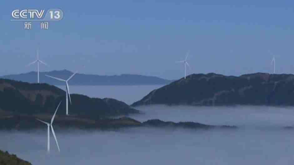 湖南藍山:日出雲海 美景如畫