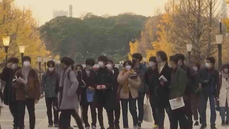 日本單日新增病例再創新高