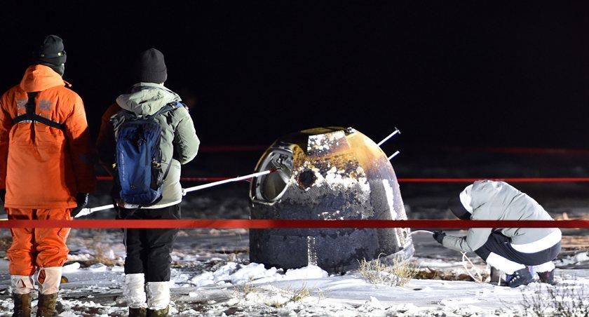 世界瞩目嫦娥五号凯旋