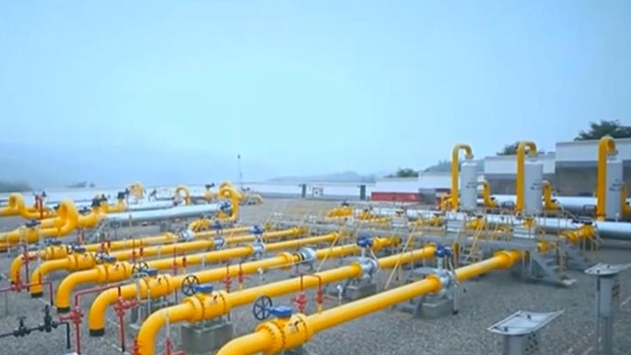 西南油氣田年産天然氣突破3000億立方米